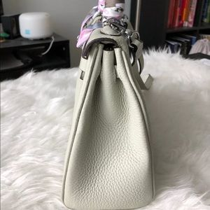 Bags - LittleBunnyStores Gris Perle KL 25 Silver Hardware